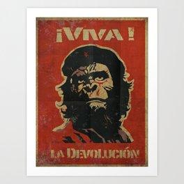 VIVA LA DEVOLUCIÓN Art Print