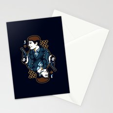 Captain Jack of Hearts Stationery Cards