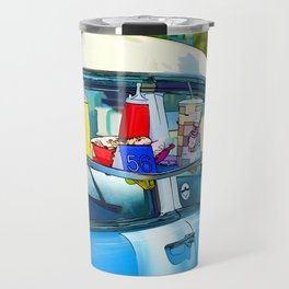 Food And Drink On Car Travel Mug