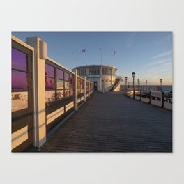 Worthing Pier Sussex Canvas Print