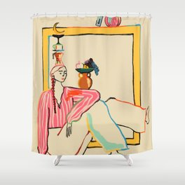 HOLIDAYS AT HOME Shower Curtain