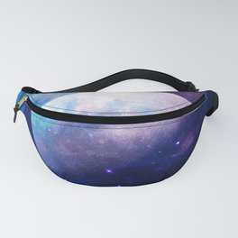 Galaxy Moon Space Fanny Pack