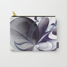 Easiness, Abstract Modern Fractal Art Carry-All Pouch