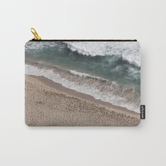 Aerial Beach Photography Carry-All Pouch