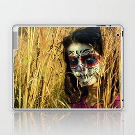 Dia De Los Muertos Gurl Laptop & iPad Skin