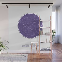 Constellation of the Northern Hemisphere Wall Mural