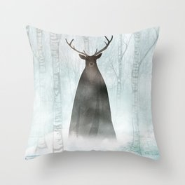 Herne the Hunter Throw Pillow