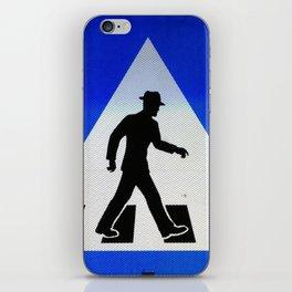 Well Dressed Man Crossing iPhone Skin