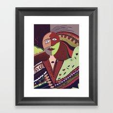 Vivid dreams Framed Art Print