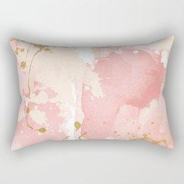 Abstract pink painting Rectangular Pillow