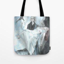 Elisabeth und Tod Tote Bag