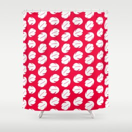 Lilo Hawaiian Dress Stitch Inspired Shower Curtain