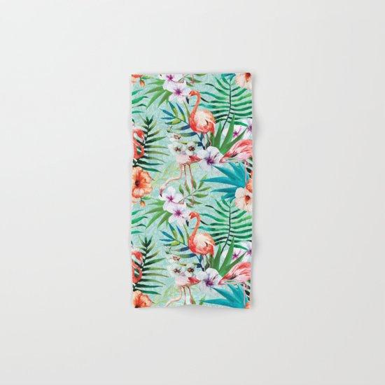 Tropical Summer #8 Hand & Bath Towel