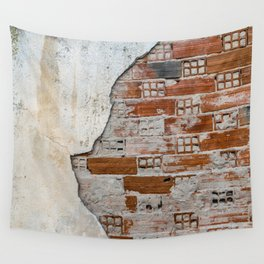 Cracked Facade Wall Tapestry