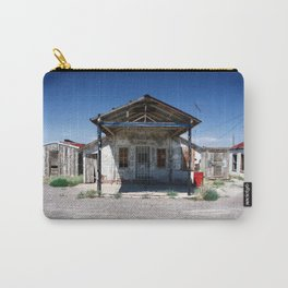 Somewhere on the Old Pecos Highway #5 Carry-All Pouch