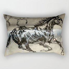 Run Rectangular Pillow