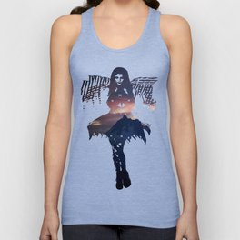 Jefferson at Sunset Unisex Tank Top