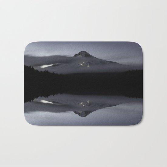 Trillium Lake Reflection Bath Mat