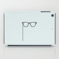 glasses iPad Cases featuring Glasses by Mr and Mrs Quirynen