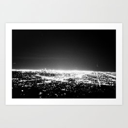 Planet Los Angeles Art Print