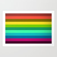 lab Art Prints featuring Colors LAB  by Msimioni