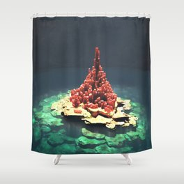 The Pillar Shower Curtain