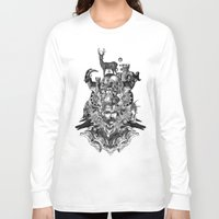 wizard Long Sleeve T-shirts featuring Wizard by DIVIDUS