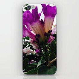Purple Garden iPhone Skin