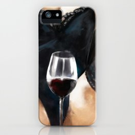 Some wine sir iPhone Case
