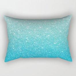 Ombre glitter #13 Rectangular Pillow