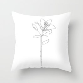 Fill Lily Throw Pillow
