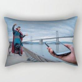Change your perspective Rectangular Pillow