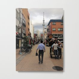 Tokyo stroll Metal Print