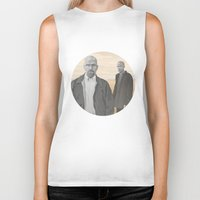 breaking bad Biker Tanks featuring Breaking Bad by ketizoloto