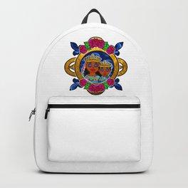 Floral Erzulie Freda Backpack