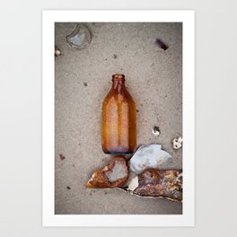 Dead Horse Bottle 2 Art Print