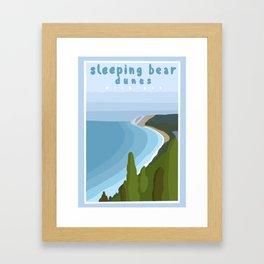 Sleeping bear dunes Michigan  Framed Art Print