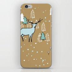 Scandinavian reindeer iPhone Skin