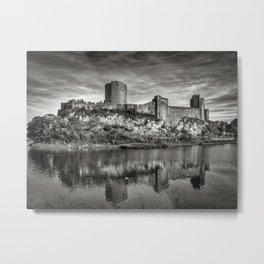 Pembroke Castle Metal Print