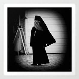 «Отче» («Orthodox priest») Art Print