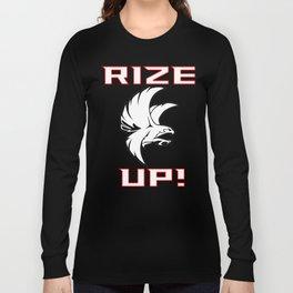 Rize Up Atlanta Shirt - Gift For Atlanta Fans Long Sleeve T-shirt