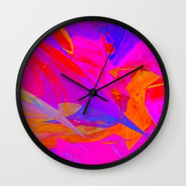 Flying High By Sherri Of Palm Spring Wall Clock