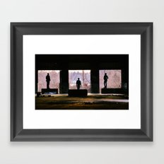 Explorations Framed Art Print
