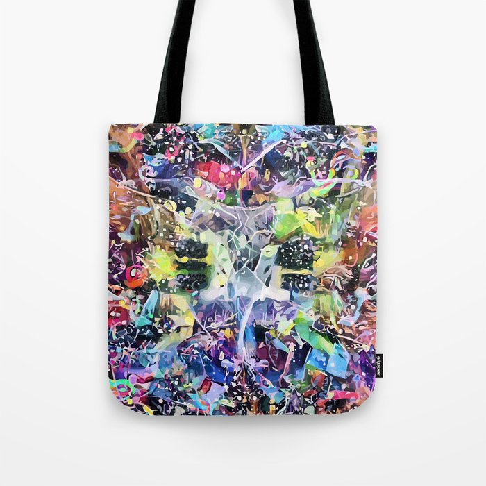 Crow's Paintbrush Tote Bag