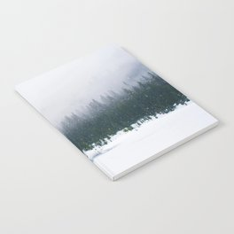 Evergreen Winter Forest (Color) Notebook