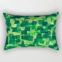 Jade Scales Rectangular Pillow