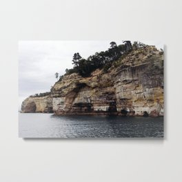 Pictured Rocks II Metal Print