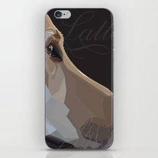 Latte Dog iPhone & iPod Skin