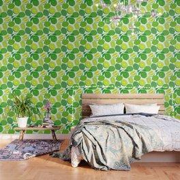 Lime Harvest Wallpaper
