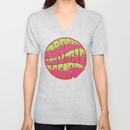 Groove is in the Heart Unisex V-Neck